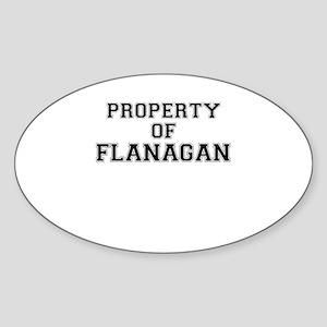Property of FLANAGAN Sticker
