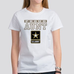 Proud U.S. Army Aunt Women's T-Shirt