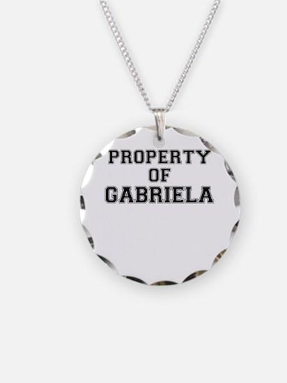 Property of GABRIELA Necklace