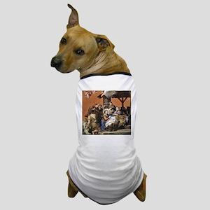 Nativity by Pietro da Cortona Dog T-Shirt