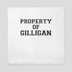 Property of GILLIGAN Queen Duvet