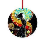 Psychic Fortune Teller Round Ornament