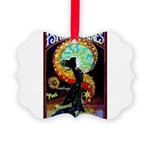 Psychic Fortune Teller Picture Ornament
