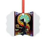 Psychic Fortune Teller Picture Ornament