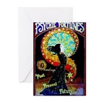 Psychic Fortune Teller Greeting Cards