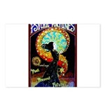 Psychic Fortune Teller Postcards (Package of 8)