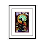 Psychic Fortune Teller Framed Panel Print