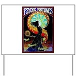 Psychic Fortune Teller Yard Sign