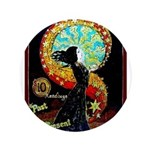 "Psychic Fortune Teller 3.5"" Button (100 pack)"