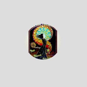 Psychic Fortune Teller Mini Button