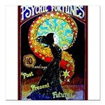 Psychic Fortune Teller Square Car Magnet 3