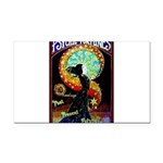 Psychic Fortune Teller Rectangle Car Magnet