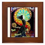 Psychic Fortune Teller Framed Tile