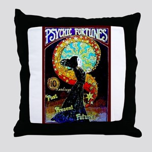 Psychic Fortune Teller Throw Pillow