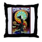 Psychic Fortune Teller Throw Pillow