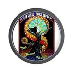Psychic Fortune Teller Wall Clock