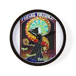 Psychic Fortune Teller Wall Clock