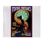 Psychic Fortune Teller Throw Blanket