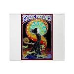 Psychic Fortune Teller Throw Blanket
