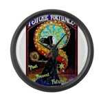 Psychic Fortune Teller Large Wall Clock