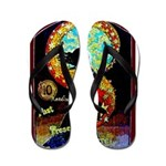 Psychic Fortune Teller Flip Flops