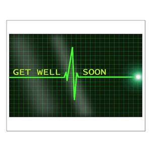 get well posters cafepress