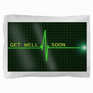 Get Well Soon ERG Pillow Sham