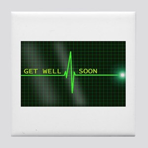 Get Well Soon ERG Tile Coaster