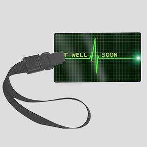 Get Well Soon ERG Luggage Tag