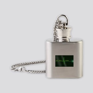 Get Well Soon ERG Flask Necklace