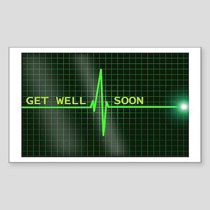Get Well Soon ERG Sticker