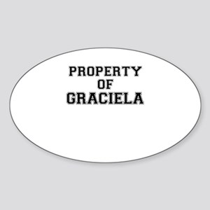 Property of GRACIELA Sticker