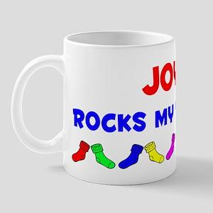 Joyce Rocks Socks (A) Mug
