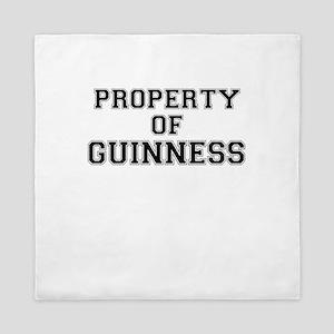 Property of GUINNESS Queen Duvet
