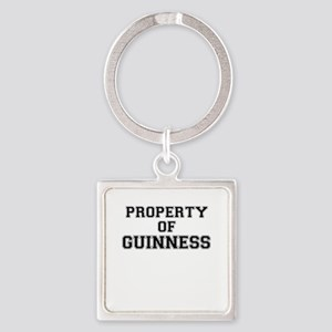 Property of GUINNESS Keychains