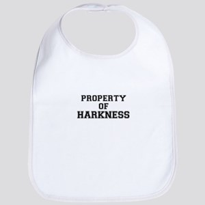 Property of HARKNESS Bib