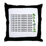 Buy more hostas Throw Pillow