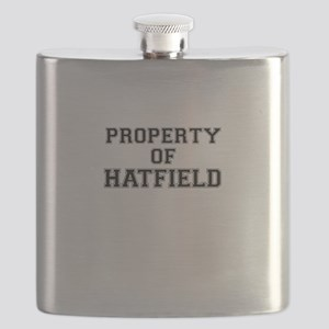 Property of HATFIELD Flask