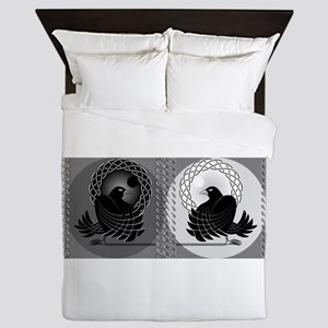 Huginn and Muninn Queen Duvet