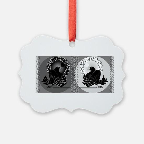 Huginn and Muninn Ornament