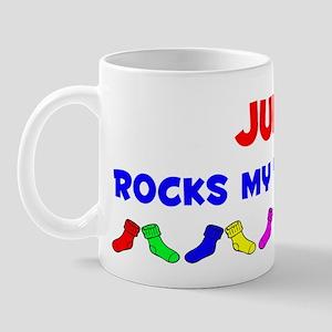 Julie Rocks Socks (A) Mug