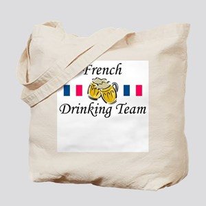 French Drinking Team Tote Bag