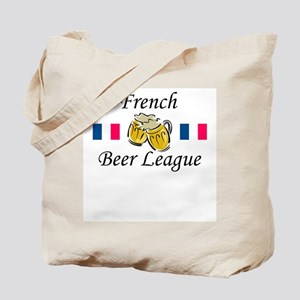 French Beer League Tote Bag