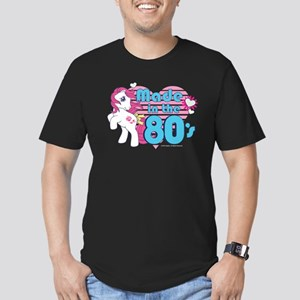 MLP Retro Made in the Men's Fitted T-Shirt (dark)