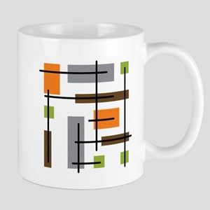 Cubicle Atomic Era Art Mugs