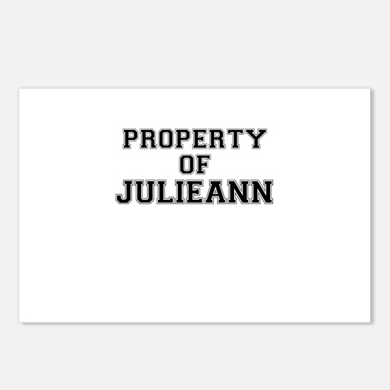 Property of JULIEANN Postcards (Package of 8)