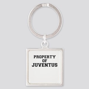 Property of JUVENTUS Keychains