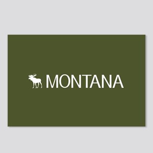 Montana: Moose (Mountain Green) Postcards (Package
