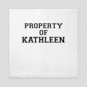 Property of KATHLEEN Queen Duvet