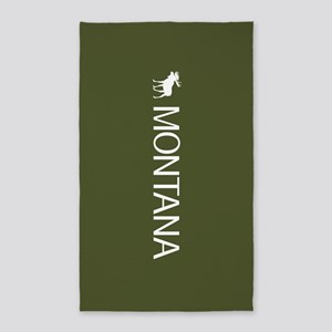 Montana: Moose (Mountain Green) Area Rug